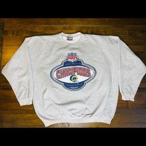 Other - Vintage Los Angeles rams sweatshirt
